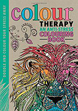 Colour Therapy, anti-stress colouring book
