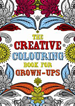 Creative Colouring, anti-stress colouring book