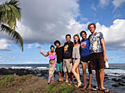 I'Loni Farm BnB in Hawaii group photo