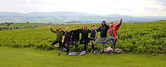 River Flow Yoga Retreats, Glasbury, Hay-on-Wye, Wales, UK.