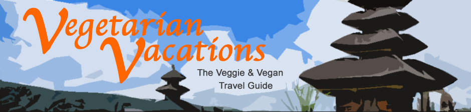 Vegetarian Vacations, the veggie travel directory, banner